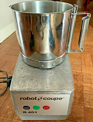 Robot Coupe R401 Commercial Food Processor Genuine Original R401A Stainless Prep