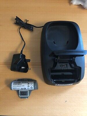 Karcher WV5 Plus Charging station  With Battery