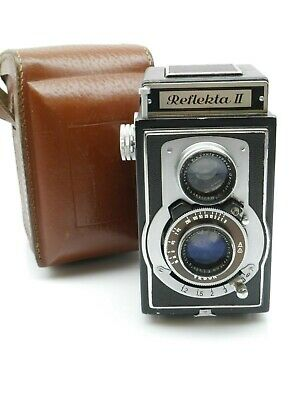 Reflekta II TLR mit / with Meritar 1:3,5 / 75 mm       (01558)