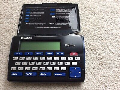Franklin Collins English Dictionary Express Edition, with Thesaurus, DMQ-221