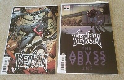 Venom #7 & #9  Marvel 2018 2nd Print 1st Dylan Brock Appearance NM Lot of 2