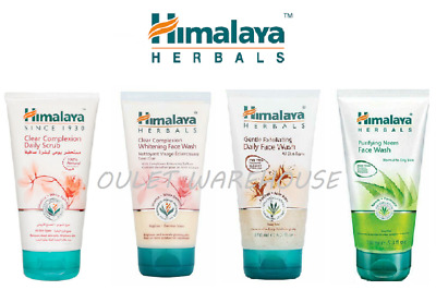 Himalaya Herbals Face Scrubs Wash Neem Clear Complexion Exfoliating 150ml