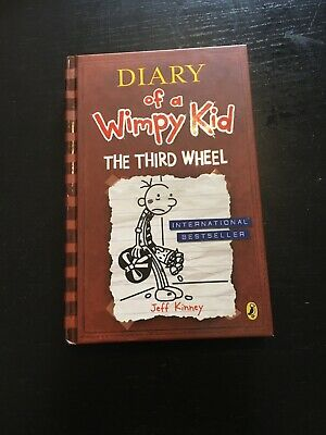 Diary of a Wimpy Kid The Third Wheel hardback book