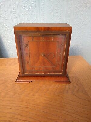 A Lovely Art Deco Mantel Clock In Working Order