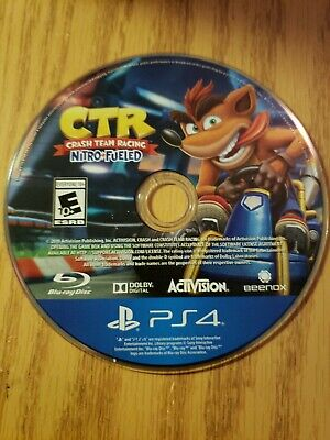 Crash Team Racing Nitro-Fueled -- Standard Edition Disc Only