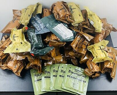 Lot of 43 Assorted Military and EMS Bandages for Hemorrhage Control
