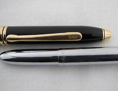 Pens~Cross Townsend ~Fisher Space Pen Bullet~Pair
