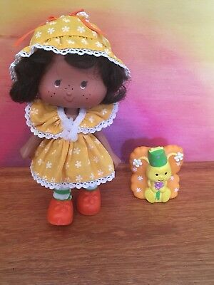 Orange Blossom Party Pleaser Doll With Pet—Strawberry Shortcake  Vintage