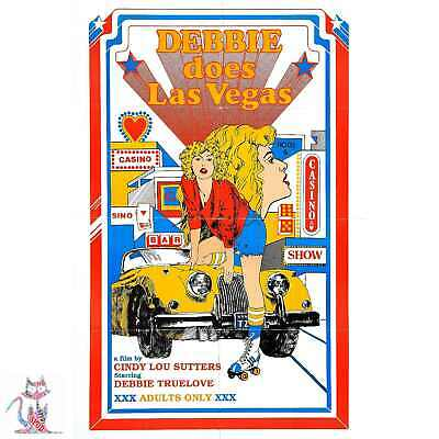 BUNNY YEAGERS NUDE LAS VEGAS B-MOVIE REPRODUCTION ART PRINT A4 A3 A2 A1