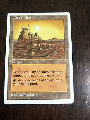Fifth Edition City of Brass MTG Magic The Gathering