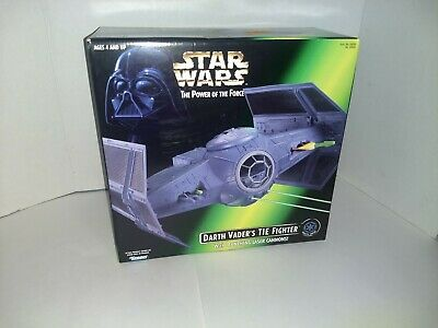 Star Wars Hasbro Power Of The Force Darth Vader's Tie Fighter New potf new