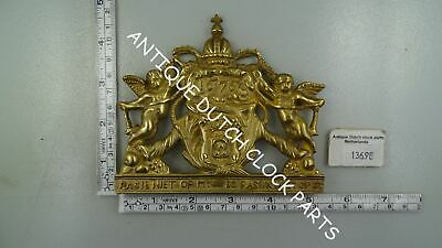Rare Top Front Ornament For Dutch Zaanse Or Zaandam Wall Clock