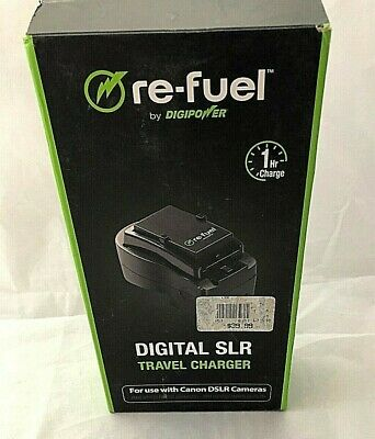 Re-Fuel Digital Slr Travel Charger For Canon Dslr Camera; By Digi Power