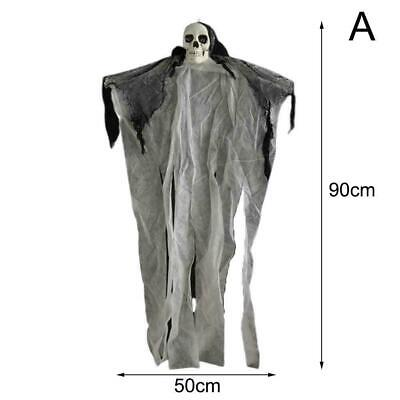Halloween Skull Skeleton Hanging Ghost Terror Decorations Skull Party Creep I6J7