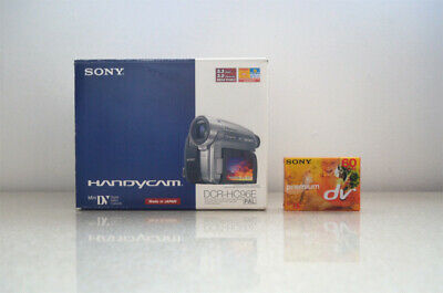 Sony DCR-HC96E Mini DV Handycam Camcorder with New Sony MiniDV Cassette Tape