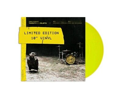 "Twenty One Pilots - Trench Triplet 10""  Yellow Vinyl Record - New"