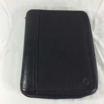 Leather Classic SpaceMaker Franklin Covey Planner Binder Organizer Cel Phone PDA