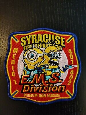 Syracuse Fire Dept. Ems Division Medic 1 (New York) Fire Department Patch