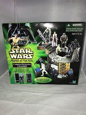 Star Wars Power of the Jedi Carbon Freezing Chamber MIB Exclusive Figure POTJ