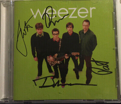 Weezer - Green Album - SIGNED BY THE BAND!