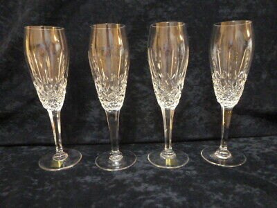 WATERFORD MARQUIS CRYSTAL STEMWARE - FLUTED CHAMPAGNE Mint Condition