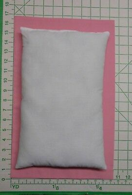 White small TRAVEL PILLOW 3 pc set -- 2  PINK  small Pillow Cases and 1 pillow