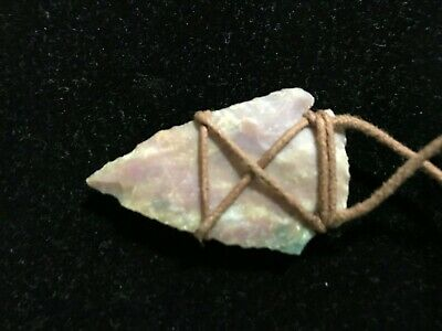 Small Arrowhead | Native Artifact on a new cord