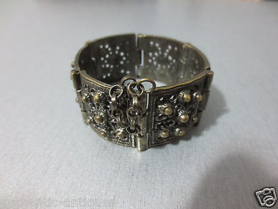 Top Price! Old Vintage Women's Folklore Bracelet - Excellent!
