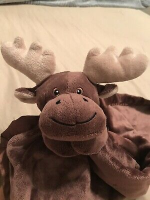 Pickles Moose Lovey Baby Security Blanket Soft       *C*