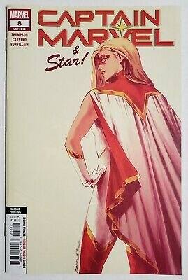 Captain Marvel #8 NM 1st App Star 1st Star Cover 2nd Print Variant Marvel Key