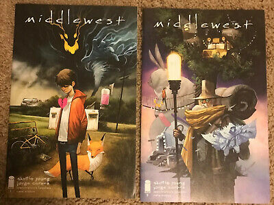 Middlewest #1(CoverA) + #2 Huddleston Skottie Young Image Comics
