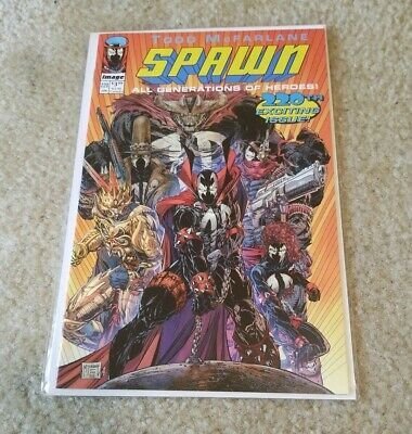 Spawn #220 NM Todd McFARLANE C Variant  Image Comics Youngblood Homage