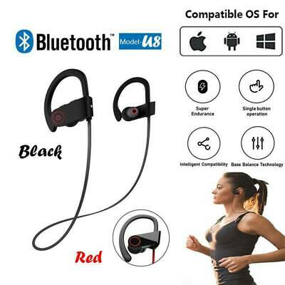 Bluetooth Sport Headphones Wireless Earbuds Sweatproof Running Headset Stereo