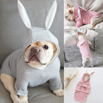 AU Dog Coats Pet Cat Puppy Chihuahua Clothes Animal Hoodie Warm for Small Dog