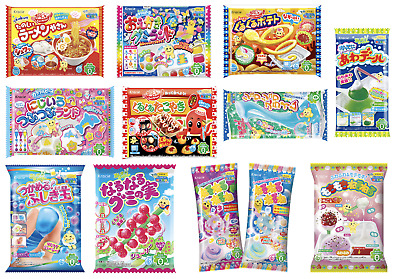 2-15 KRACIE POPIN COOKIN KITS. DIY Japanese Candy Happy Kitchen Christmas Sweets