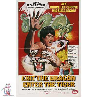 Exit Dragon Enter Tiger Poster Similar to A1 A2 A3 A4  #14061