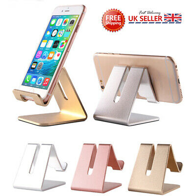 Universal Mobile Phone Cell Phone Holder Table Desk Stand for Samsung iPhone UK