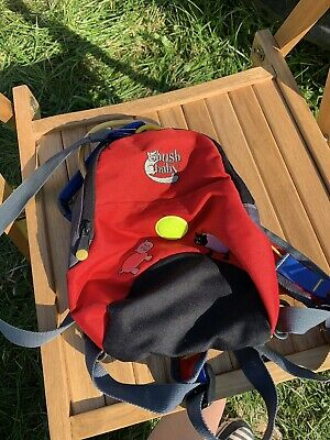 Bush Baby Toddler Rucksack With Reins Excellent Condition