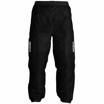 Oxford Rainseal All Weather Motorcycle Motorbike Over Trousers - Black