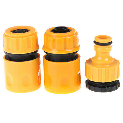 3 pcs Connectors Hose Fittings Irrigation System For Water Gun Connector RR