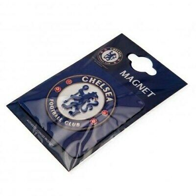 Chelsea FC Official Product Raised Relief Fridge Magnet Square Club Crest New
