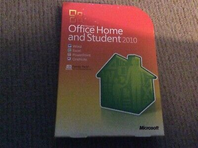 - Microsoft Office Home & Student [2010] Software With Key 3 Device Family Pack