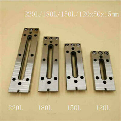 Wire EDM Fixture Board Stainless Jig CNC Tool Fit Clamping  Leveling 12-22CM M8