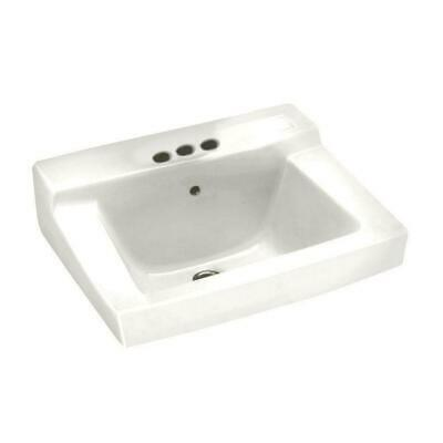 American Standard Declyn Wall-Mounted Bathroom Sink in White