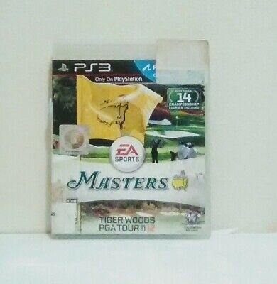 Tiger Woods PGA Tour 12: The Masters (Sony PlayStation 3, 2011) Golf Video Games