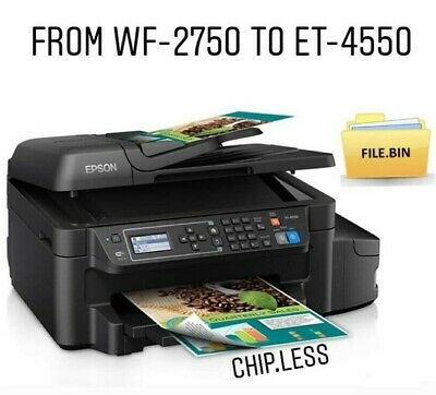 use your printer without chip No more chips BIN Epson workforce 3620