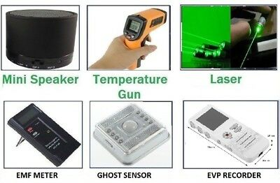 Ghost Hunting Beginner's Spirits Paranormal Hunt Kit Equipment Emf Evp