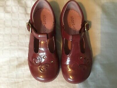 Startrite 6.5F 6 And Half F Cherry Patent T-bar School Shoes Party Shoes