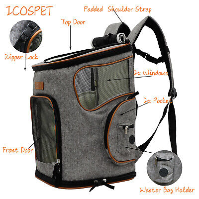 Premium Pet Carrier Backpack for Small Dogs and Cats Airline Approved