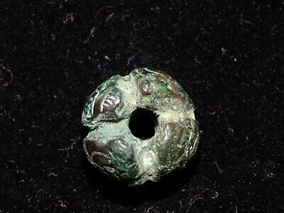 Pre-Columbian Copper Bead, Incan- Chimu, Moche